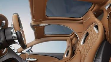 Bugatti Chiron Sky View interior