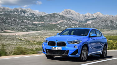 BMW X2 – Front