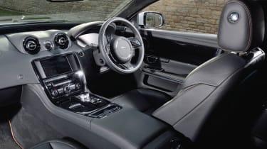 Jaguar XJR interior dashboard