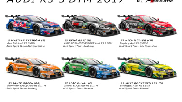 2017 Audi RS5 DTM collection