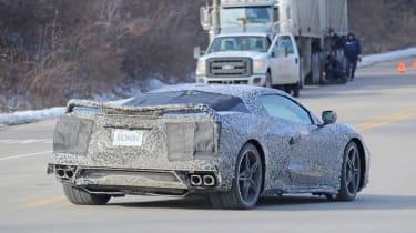 Chevrolet Corvette C8 - rear quarter