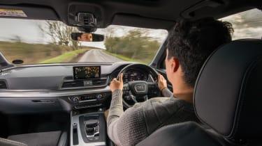 Audi Q5 - driving