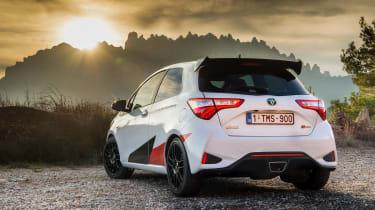 Toyota Yaris GRMN – rear quarter