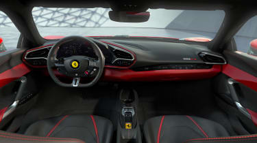2022 Ferrari 296 GTB – dash