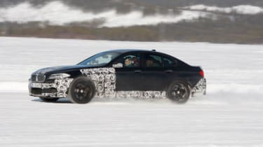 BMW M5 pre-production first drive