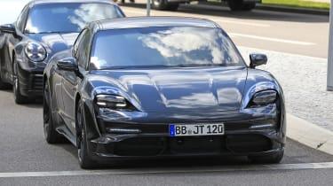 Porsche Taycan spies