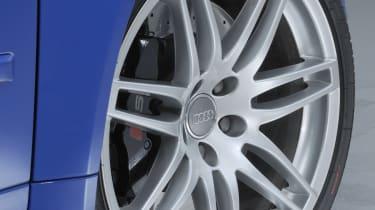 Audi RS4 wheel