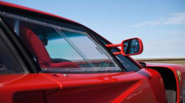 Ferrari F40 LM - window