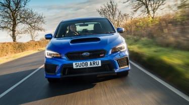 Subaru WRX Final Edition – front