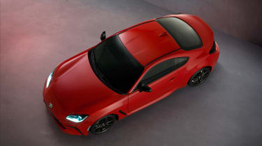 2022 Toyota GR86 - roof