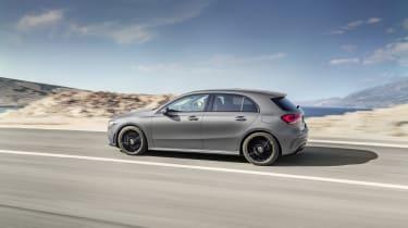 Mercedes-Benz A-class side