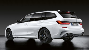 BMW 3-series Touring M Performance parts rear