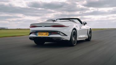 Bentley Bacalar dev - rear tracking