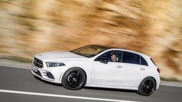 Mercedes-Benz A-class front three quarter