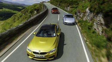evo Magazine September 2014 - BMW M4 vs Porsche 911 vs Nissan GT-R