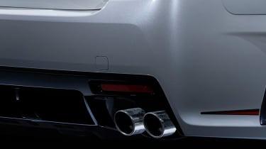 Toyota Mark X GR SPORT - exhaust