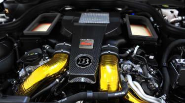 Brabus tunes Mercedes E63 AMG to 838bhp.