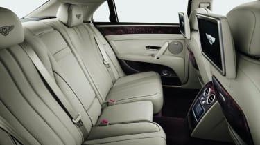 2013 Bentley Flying Spur rear seats