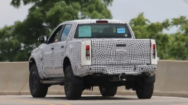 Ford Ranger Raptor spy - rear5