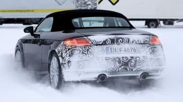 Audi TT Roadster facelift