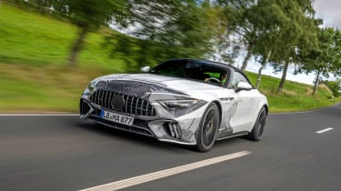 Mercedes SL Prototype – tracking