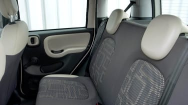 2013 Fiat Panda Trekking interior rear seats