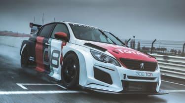 Peugeot Sport 308 TCR front quarter