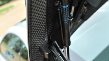2013 Mercedes SL63 AMG carbonfibre bootlid