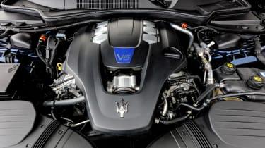 Maserati Ghibli MY2021 – engine