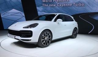 Porsche Cayenne Turbo live