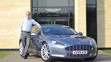 Aston Martin Rapide production shifted to the UK