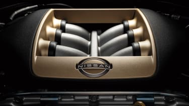 MY22 Nissan GT-R T-spec – engine