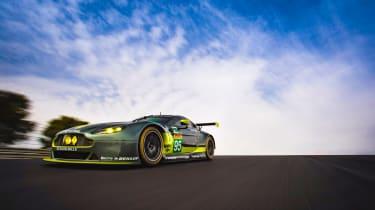 WEC 2017 - Aston Martin V8 GTE front 3
