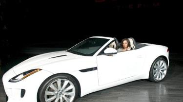 Jaguar F-type LA motor show