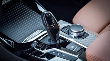 BMW X3 M40i - console