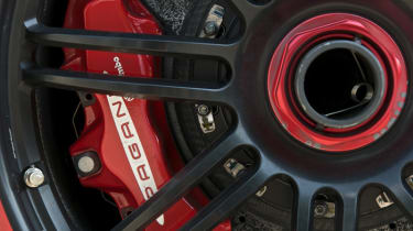 Pagani Zonda Cinque wheel and brake