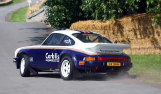 2012 Cholmondeley Pageant of Power sideways Porsche 911