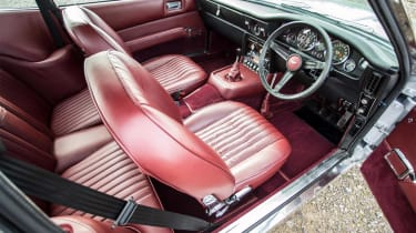 Aston Martin Vantage - interior