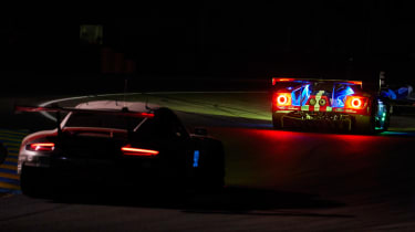 Le Mans 2017 - Ford GT night rear