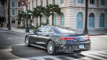 Mercedes-AMG S63 Coupe - rear quarter