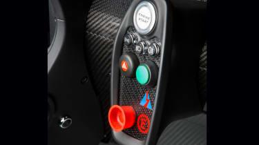 Lotus 3-Eleven – interior control panel