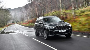 BMW X7 review - location front