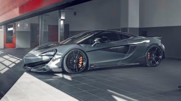 Novitec McLaren 600LT front three quarters