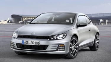 New VW Scirocco silver front