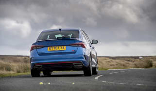 Skoda Octavia vRS iV review - rear cornering