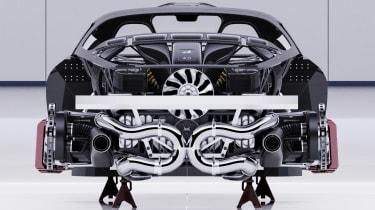 Alpine A110 GTA concept – rear