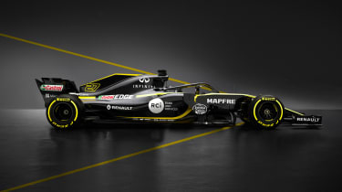 Renault 2018 car - side