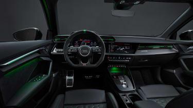 2021 Audi RS3 Saloon –interior