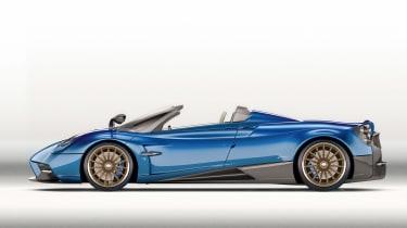 Huayra roadster profile 1