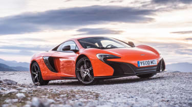 McLaren 650S evo feature